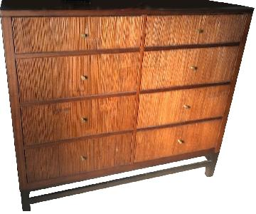 Crate & Barrel Wood 8-Drawer Dresser