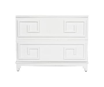 Worlds Away Wrenfield Two Drawer Chest