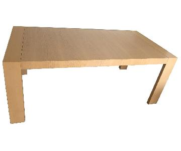 Scandinavian Wood Dining Table