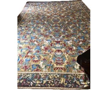 Peel & Co Antique Pattern Needlepoint Rug