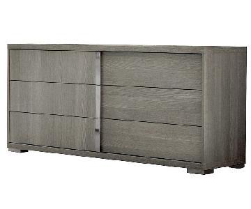 Alf Tivoli Gaia Dresser w/ Mirror in Matte Grey Oak