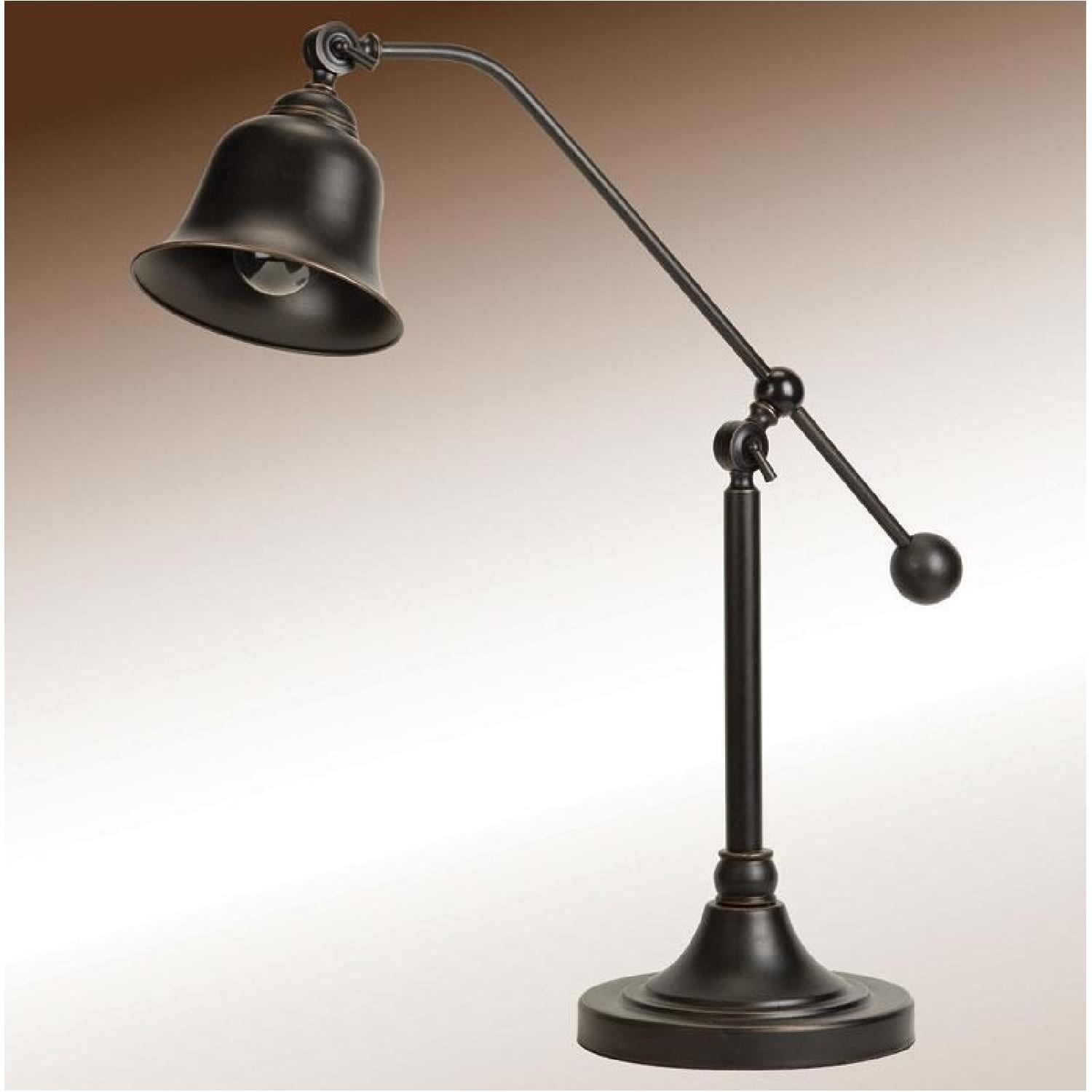 Old School Desk Lamp In Dark Bronze Finish Aptdeco