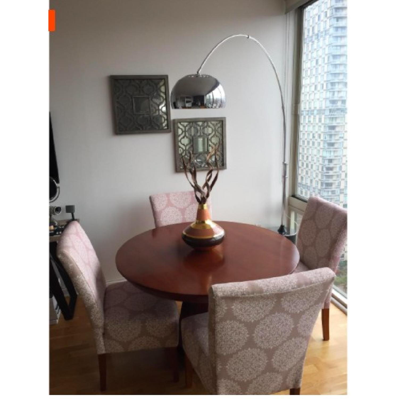 lamps plus silver floor lamp aptdeco. Black Bedroom Furniture Sets. Home Design Ideas