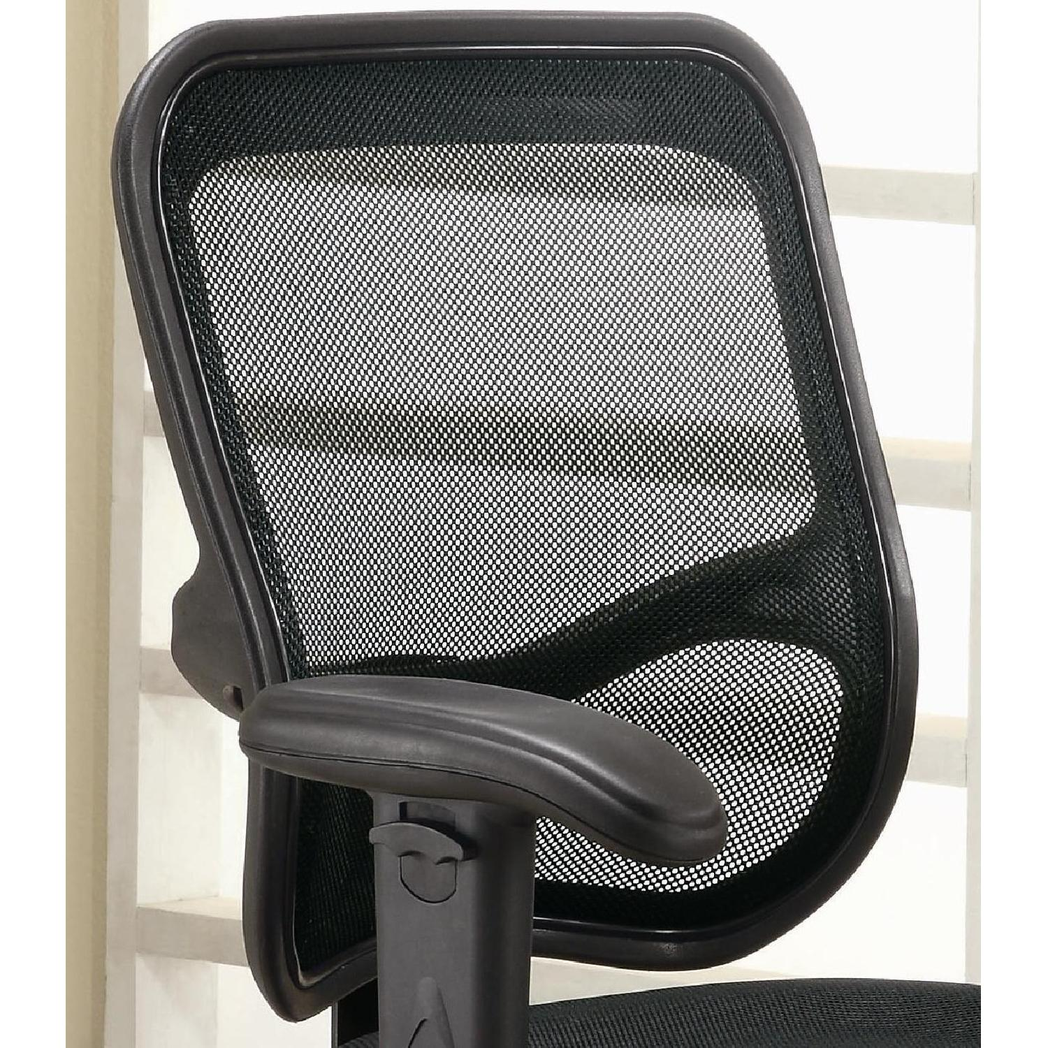 Contemporary Adjustable Ergonomic Seat Office Chair w/ Mesh Back-1