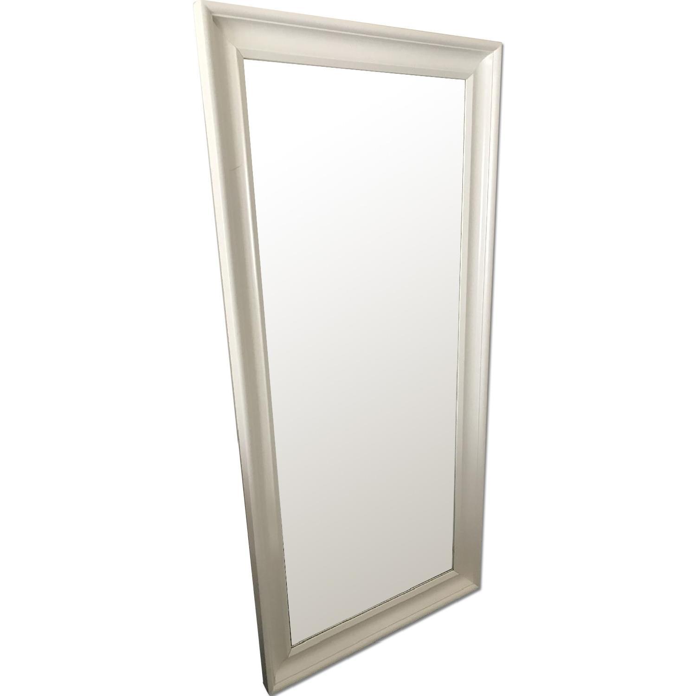 Ikea Hemnes White Floor Mirror Aptdeco