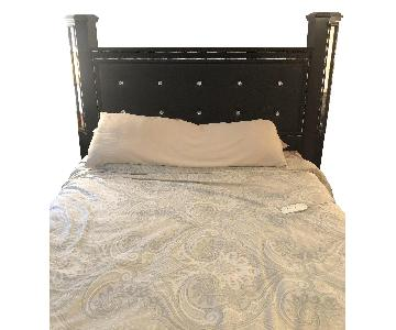 Black Queen Bed Frame