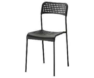 Ikea Adde Black Chairs