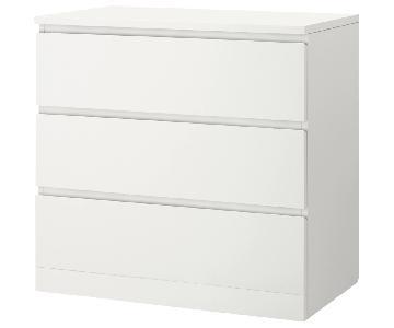 Ikea Malm 3-Drawer Dresser
