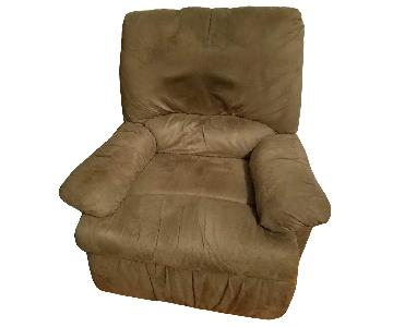 Copper Grove Lily Grey Microfiber Recliner