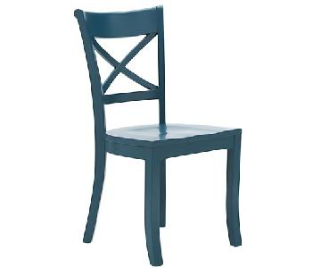 Crate & Barrel Wooden Dining Chairs