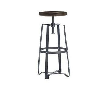 West Elm Industrial Backless Swivel Stools