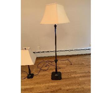 Pottery Barn Floor Lamp