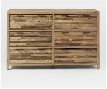 West Elm Bay Reclaimed Wood 6-Drawer Dresser