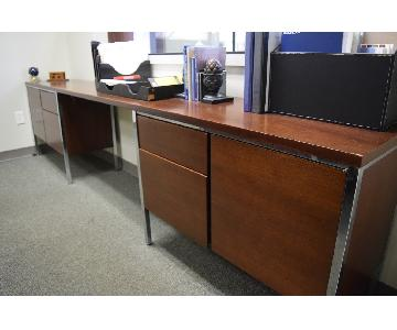 Mid Century Mad Men Style Desk