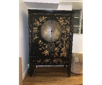 Chinese Chinoiserie Cabinet