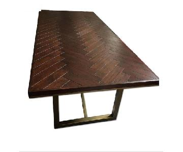 Herringbone Dining Table