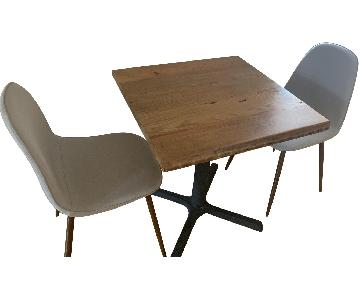 Kitchen Bistro Table w/ 2 Chairs