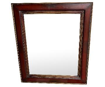 Uttermost Wood Frame Mirror