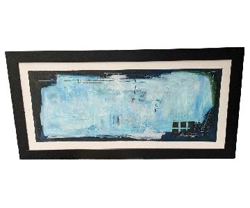 Large Framed Artwork