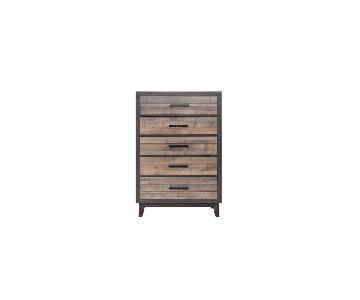 Raymour & Flanigan Tacoma 5-Drawer Dresser
