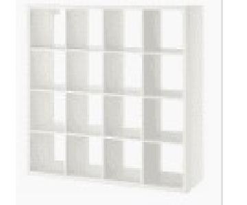 Ikea Expedit 16 Cube Shelf Unit w/ 8 Drawers