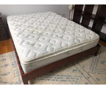 Wooden Platform Queen Size Bed