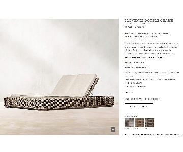 Restoration Hardware Outdoor Double Chaise