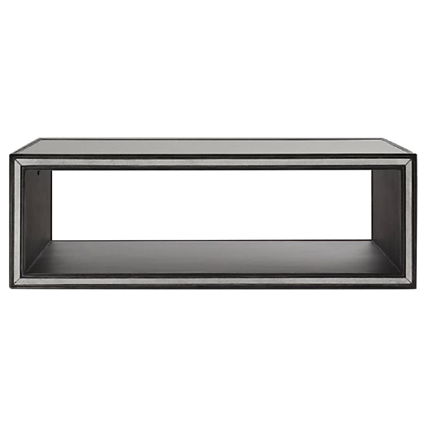 Restoration Hardware Strand Mirrored Coffee Table