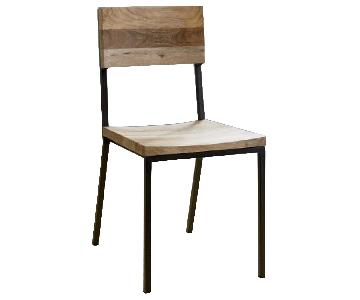 West Elm Rustic Dining Chairs