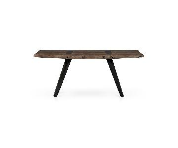 Crate & Barrel Phoenix Rustic Work Table
