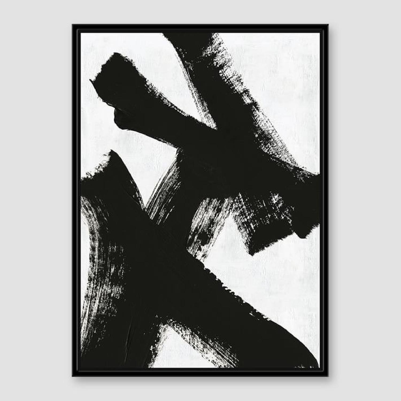 West Elm Framed Print - Double X-0