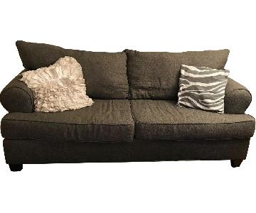 Bob's Grey Sofa + Matching Armchair