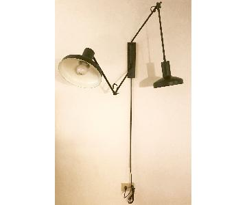 Pottery Barn Teen Industrial Wall Lamp