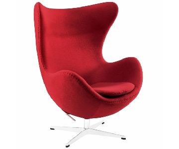 Modway Arne Jacobsen Replica Egg Chair