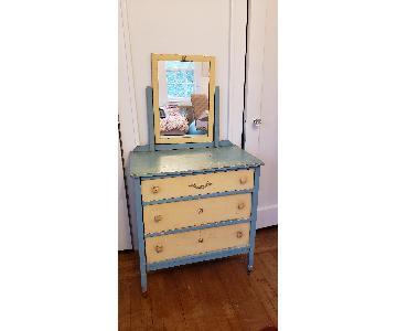 Vintage Colorful Child's Dresser