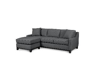 Macy's Keegan 2-Piece Sectional Sofa