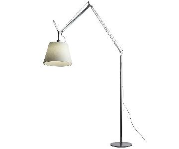 Artemide Tolomeo Mega Floor Lamp w/ Parchment Shade