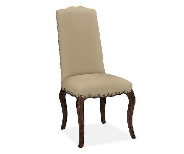 Pottery Barn Calais Upholstered Dining Chairs