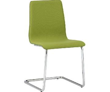 CB2 Pony Chair in Sprout