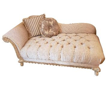 Schnadig Upholstered Chaise Lounge