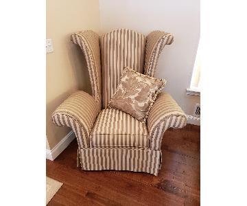 Schnadig Upholstered Armchair