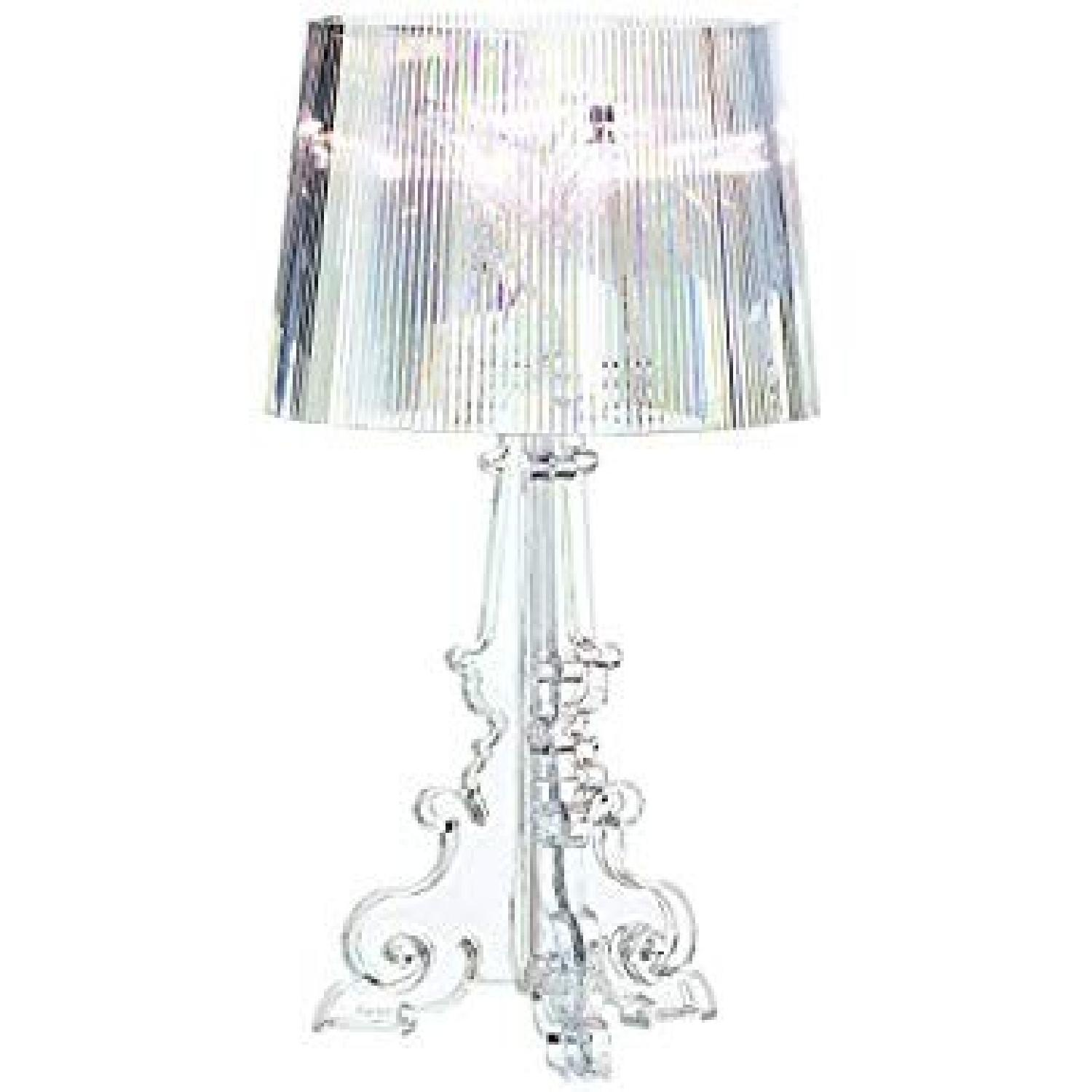 Kartell Bourgie Crystal Table Lamp