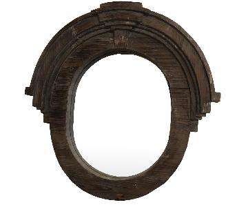 Farmhouse Style Wood Framed Mirror