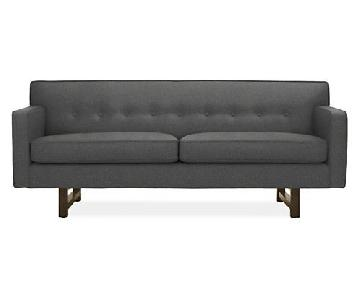 Room & Board Andre Sofa in Total Ink