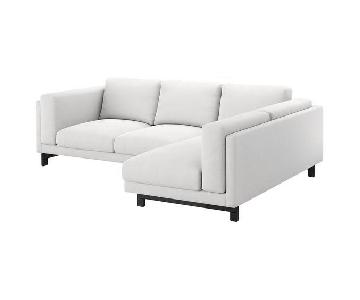 Ikea Nockeby L Shaped Sectional Sofa