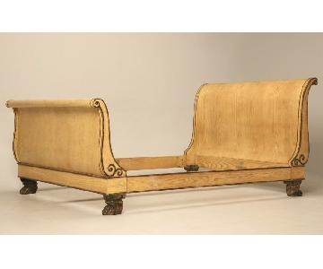 Baker Claw Foot Sleigh Bed