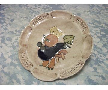 Vintage Spaghetti Platter