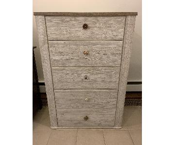 Charlton Home Theus Modern Rustic 5 Drawer Chest