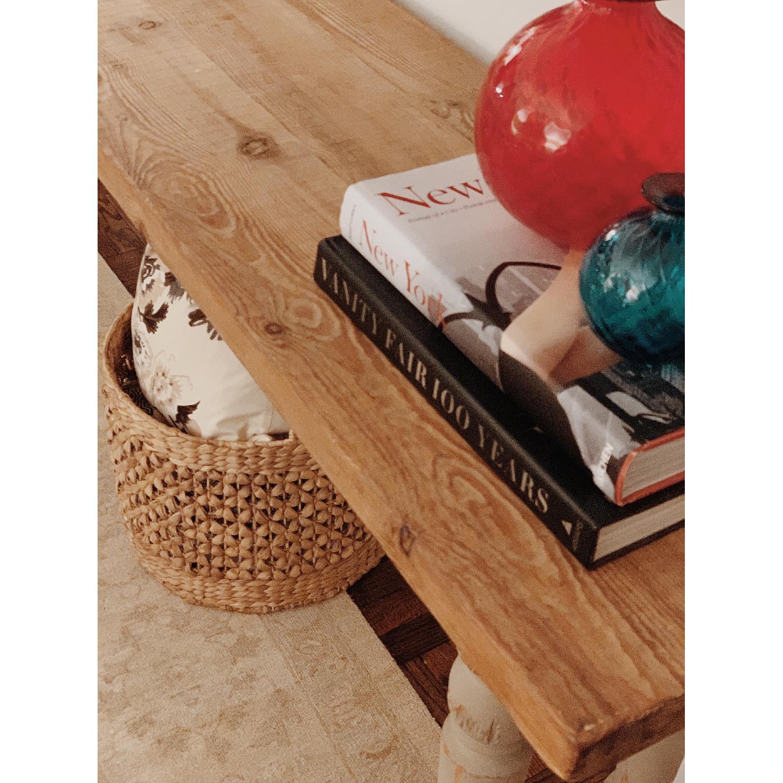 ABC Carpet & Home Long Console Wooden Table-0