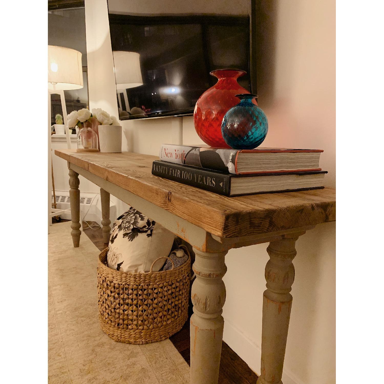 ABC Carpet & Home Long Console Wooden Table-1